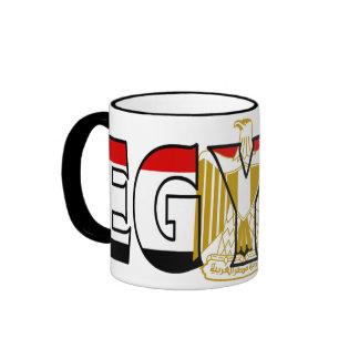 Taza de café de Egipto