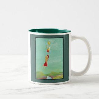 """Taza de café de """"elevación"""""""