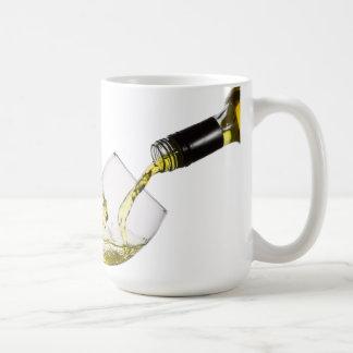 Taza de café de encargo de colada de la plantilla