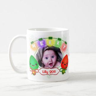Taza de café de encargo de la foto y de la taza pa