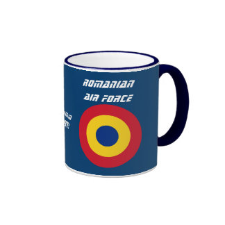 Taza de café de encargo de la fuerza aérea rumana