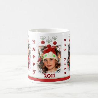 Taza de café de encargo de los ornamentos del navi