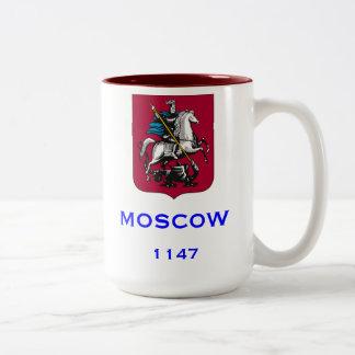 Taza de café de encargo de Moscú Rusia