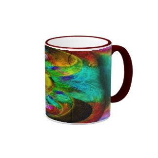 Taza de café de encargo del arte de Jackie   5
