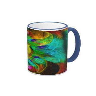 Taza de café de encargo del arte de Jackie 5RM