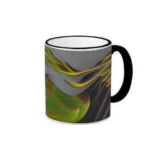 Taza de café de encargo del arte de Jackie 7
