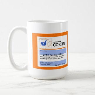 Taza de café de encargo divertida de la