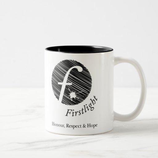 Taza de café de FirstLight (pequeña)