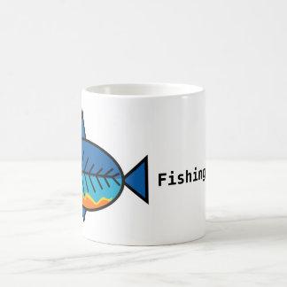 Taza de café de FishingTruths con Hugo
