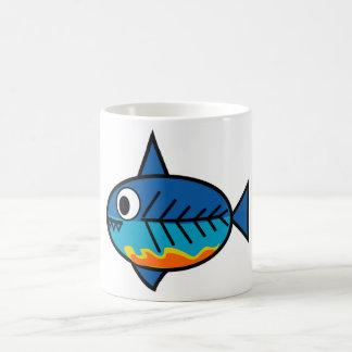 Taza de café de FishingTruths que ofrece la