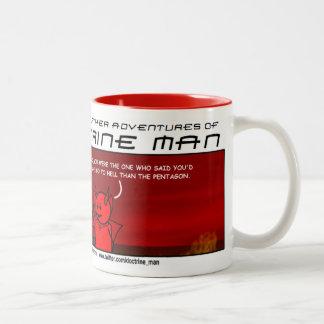 """Taza de café de """"gran Satan"""" del hombre de la"""