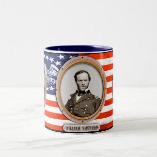 Taza de café de Guillermo T. Sherman