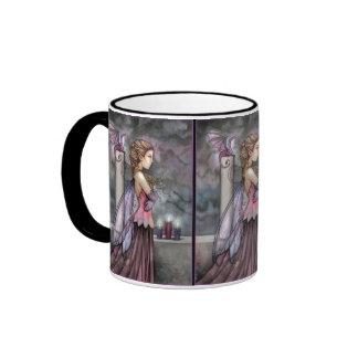 Taza de café de hadas del dragón por Molly