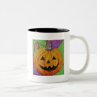 Taza de café de Halloween de la Jack-O-Linterna