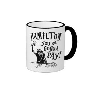 Taza de café de HAMILTON