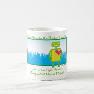 Taza de café de HeartBot