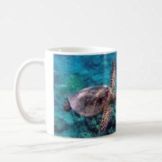 Taza de café de Honu de la tortuga de Hawaii