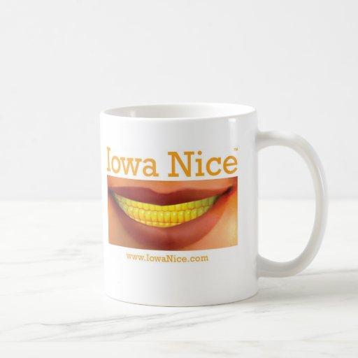 Taza de café de Iowa Niza
