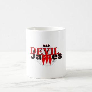 Taza de café de James del diablo