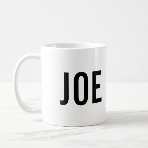 Taza de café de JOE