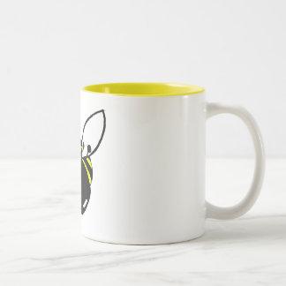 Taza de café de la abeja