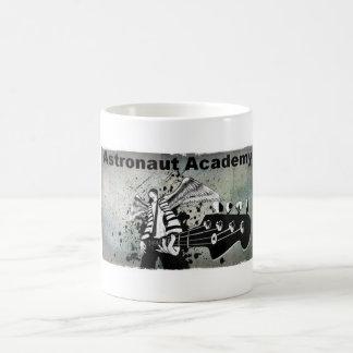 Taza de café de la academia del astronauta