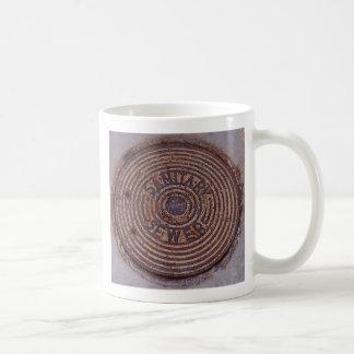 Taza de café de la alcantarilla (derecha)
