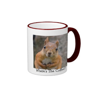 Taza de café de la ardilla