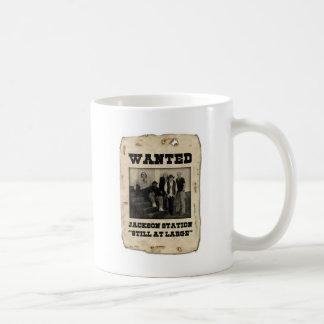 Taza de café de la banda de la estación de Jackson
