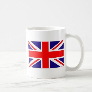 Taza de café de la bandera de Reino Unido