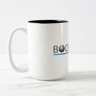 Taza de café de la bola de Bocce (con acento del