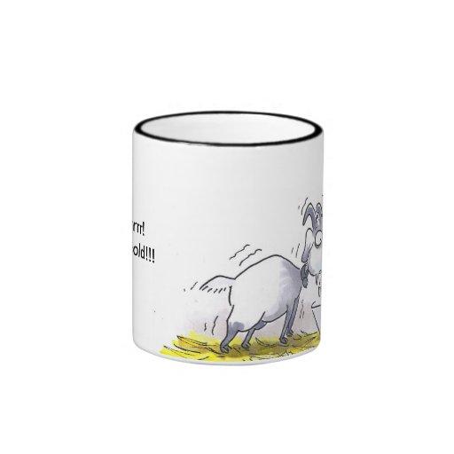 Taza de café de la cabra