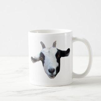 Taza de café de la cabra de la Tonto-Cara