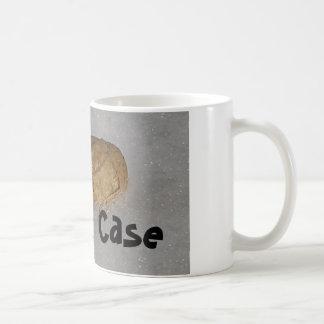 Taza de café de la caja de nuez