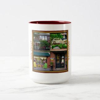 Taza de café de la calle principal 2 de MaggHouze