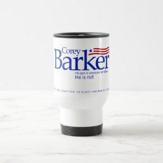Taza de café de la campaña de Corey Barker Tumber