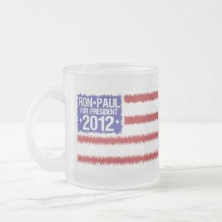 Taza de café de la campaña de Ron Paul 2012