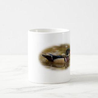 Taza de café de la caza del pato