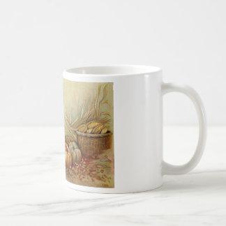 Taza de café de la celebración de la acción de gra