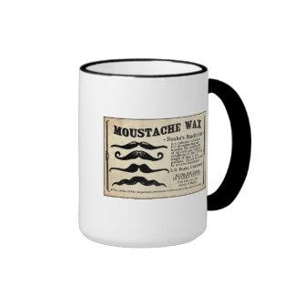 Taza de café de la cera del bigote de Mustach