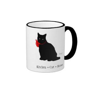 Taza de café de la colección de Meowu