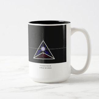 """taza de café de la """"conciencia consciente"""""""