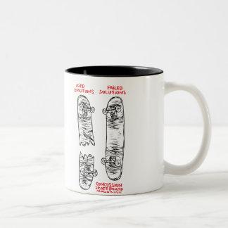 Taza de café de la conmoción cerebral