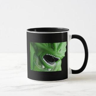 Taza de café de la cosa del pantano