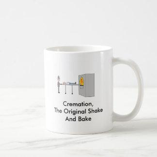 Taza de café de la cremación