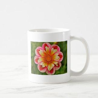 Taza de café de la dalia