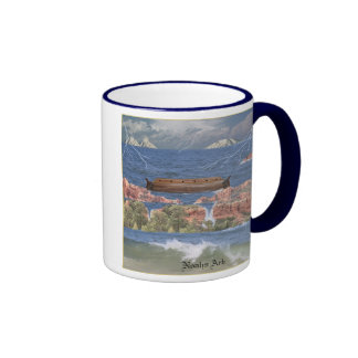 Taza de café de la diorama de la arca de Noahs