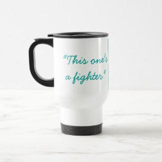 Taza de café de la diva del guerrero del Amazonas