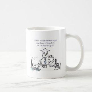 Taza de café de la edición limitada de Squidman