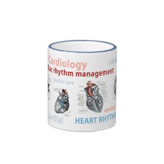 taza de café de la electrofisiología